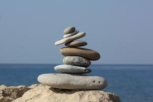 Stacked stones - balance